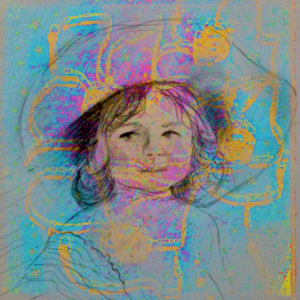 Little Girl In A Big Hat
